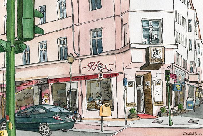 Café Pfau, Sara Contini-Frank