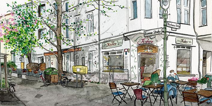 Die Fiaker Kaffeerösterei, Sara Contini-Frank