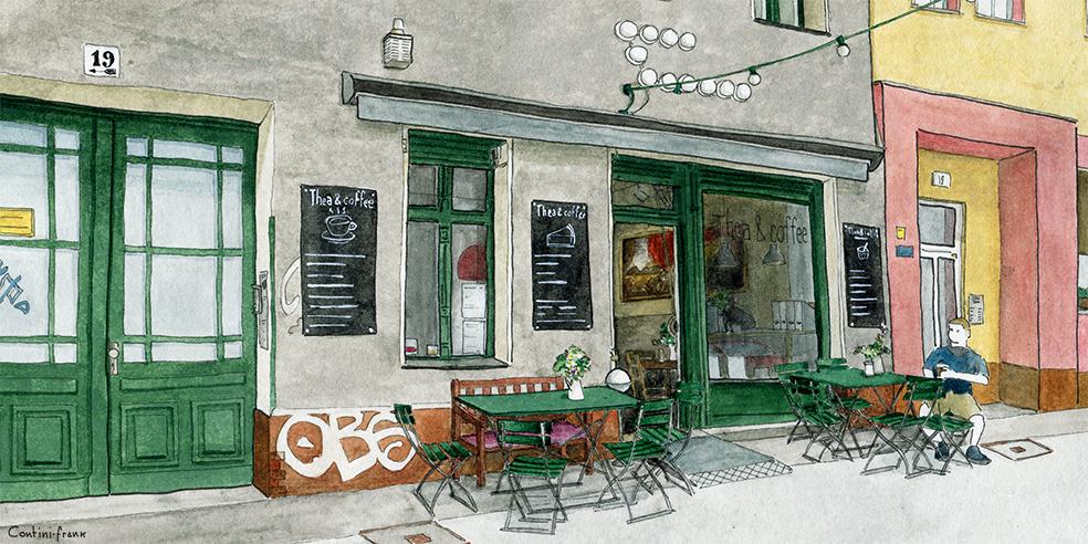 Thea&Coffee, Sara Contini-Frank