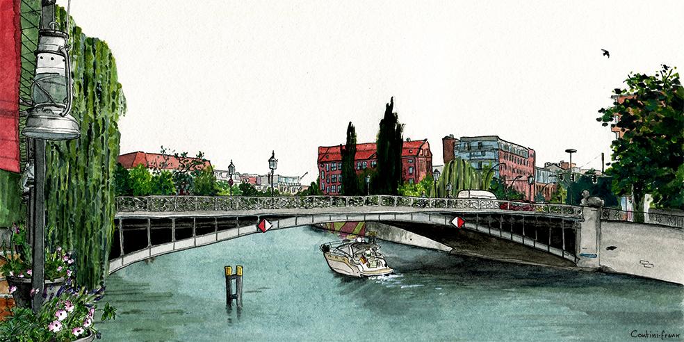 Gotzkowskybrücke, Sara Contini-Frank
