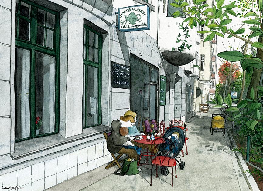 Mamsellchen, Sara Contini-Frank