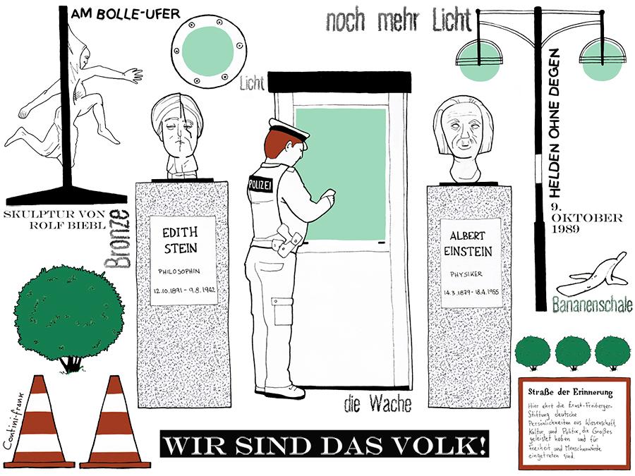 Spree-Bogen, Sara Contini-Frank