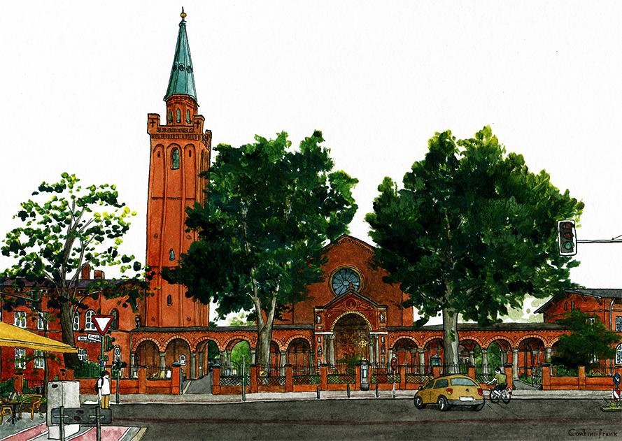 Johanniskirche, Sara Contini-Frank