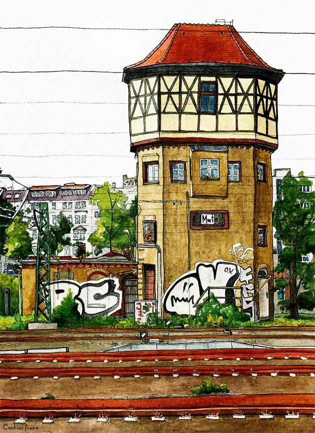 Stellwerk Moabit Westturm, Sara Contini-Frank