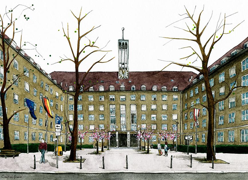 Rathaus Tiergarten, Sara Contini-Frank