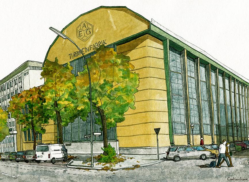 AEG Turbinenfabrik, Sara Contini-Frank