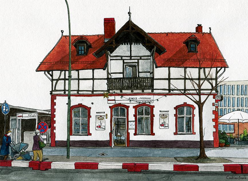 Restaurant Paris-Moskau, Sara Contini-Frank