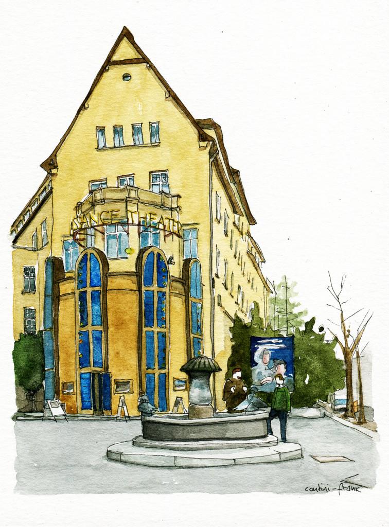 Renaissance Theater in der Knesebeckstraße, Sara Contini-Frank