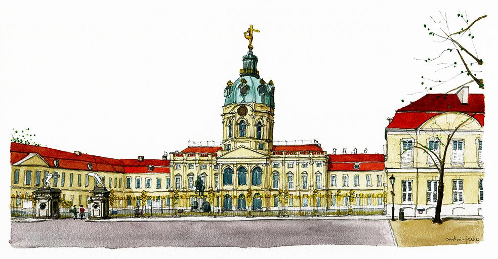 Das Schloss Charlottenburg am Spandauer Damm, Sara Contini-Frank