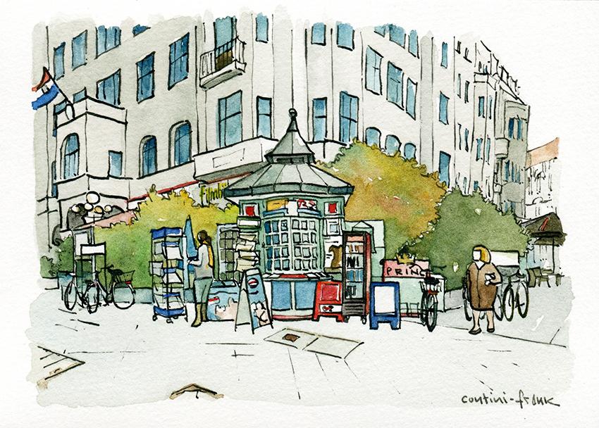Der Kiosk am Steinplatz, Sara Contini-Frank