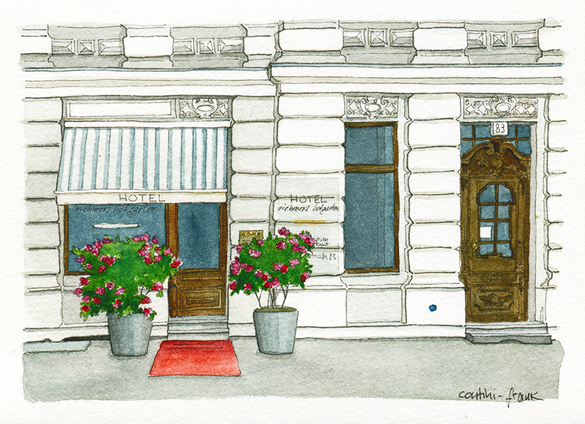 Das Hotel riehmers hofgarten, Sara Contini-Frank