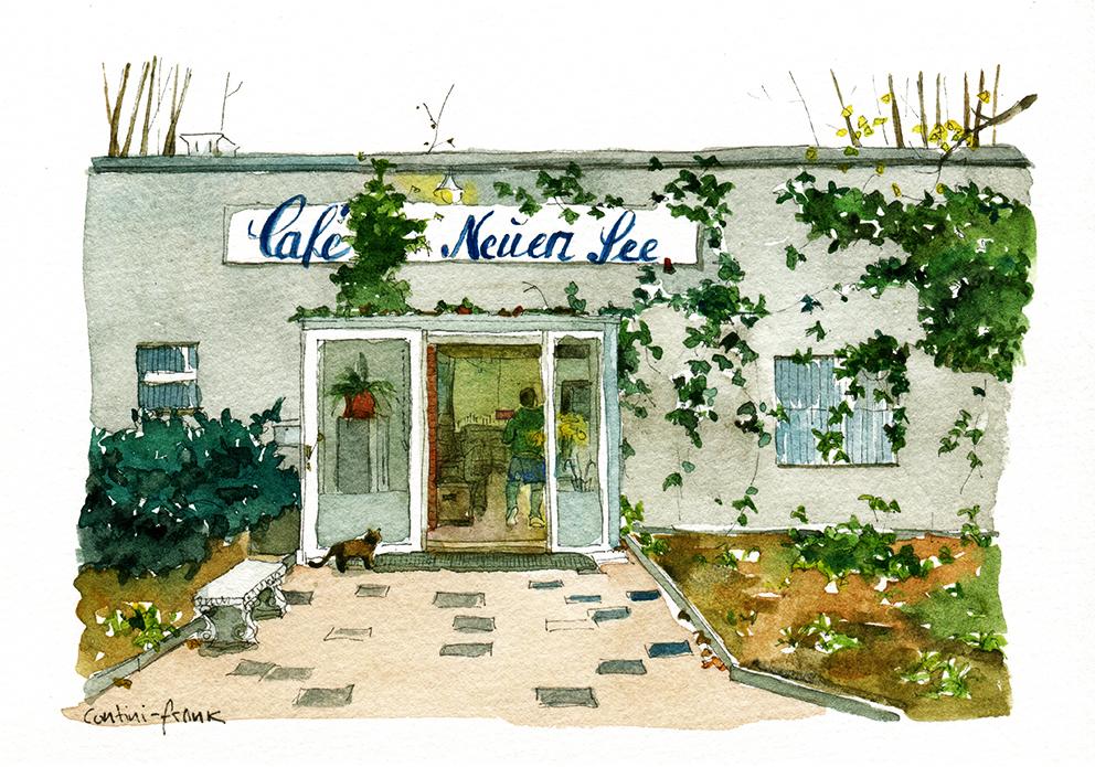 Das Café am Neuen See, Sara Contini-Frank