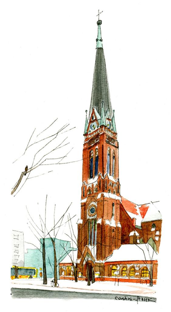 Die Heilandskirche, Sara Contini-Frank