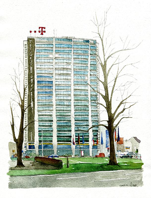 Das Telefunken-Hochhaus, Sara Contini-Frank