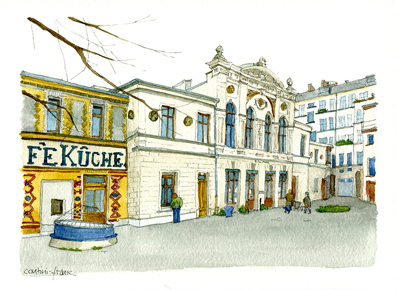 Die Bibliothek am Luisenbad, Sara Contini-Frank