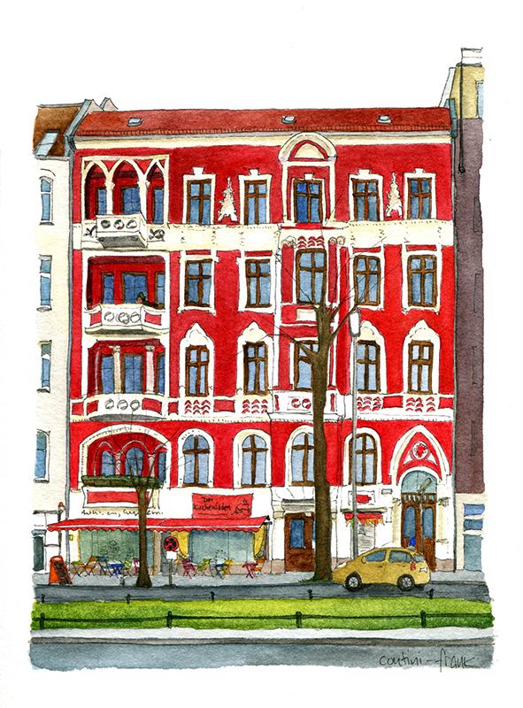 Der Kuchenladen, Sara Contini-Frank