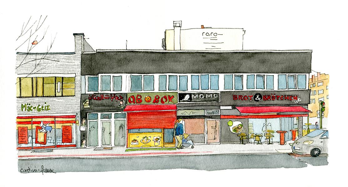 Turmstraße, Sara Contini-Frank