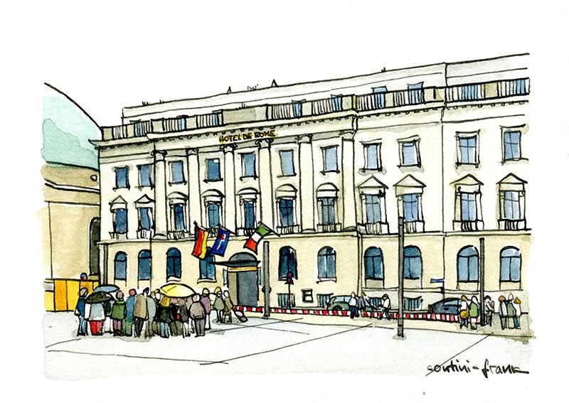 Das Hotel de Rome, Sara Contini-Frank