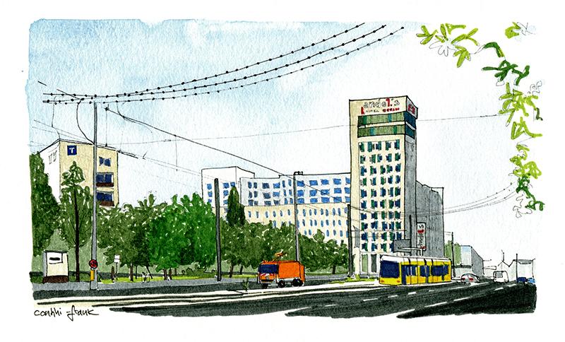 Das Hotel Andel's Berlin, Sara Contini-Frank