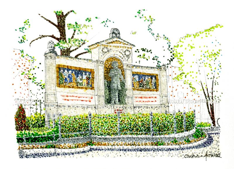 Das Denkmal Albrecht von Graefe, Sara Contini-Frank