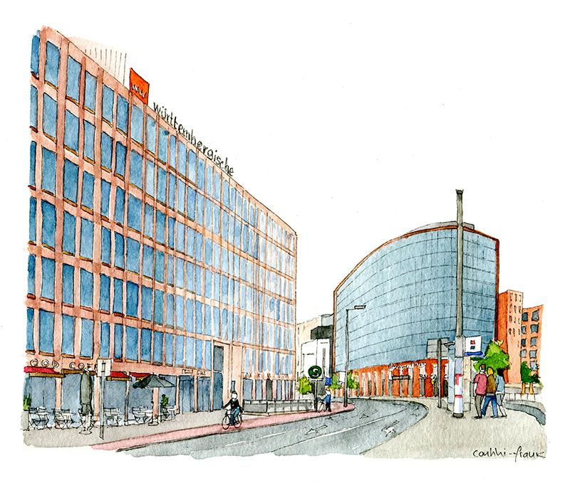 Die Stresemannstraße, Sara Contini-Frank